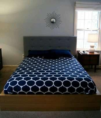 Tufted 5*6 bed/modern design bed/unique bed image 1