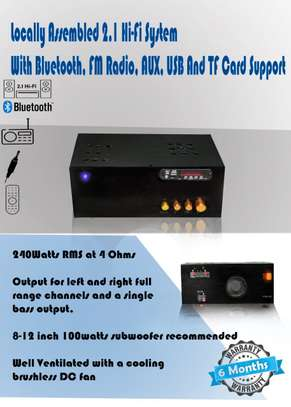 Locally Assembled Home Audio System image 1