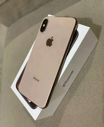 Apple Iphone xs / 512 Gigabytes / Gold And Wireless Airpods image 1