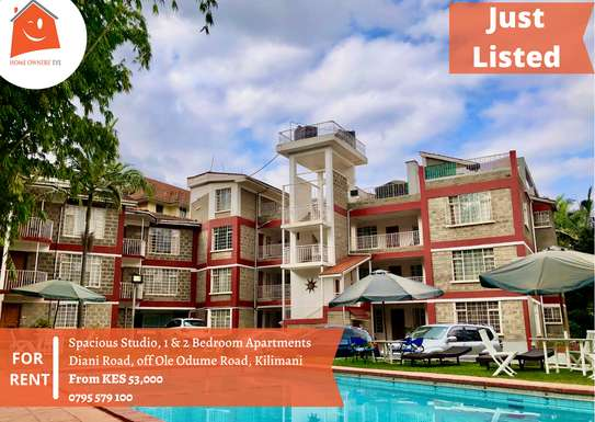 1 bedroom apartment for rent in Kilimani image 1