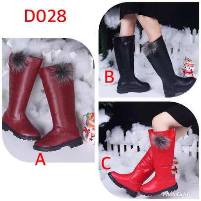 Girls knee boots