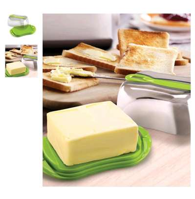 Max Plastic Butter/cheese Dish image 1
