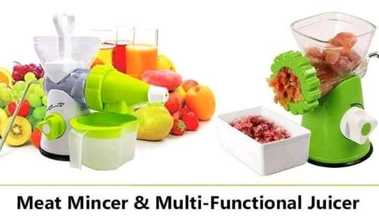 Multifunctional Manual Juicer/Manual Blender And Mincer image 4