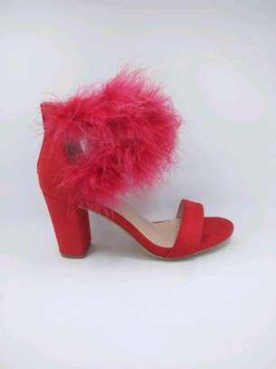 Ladie chunky heels image 4