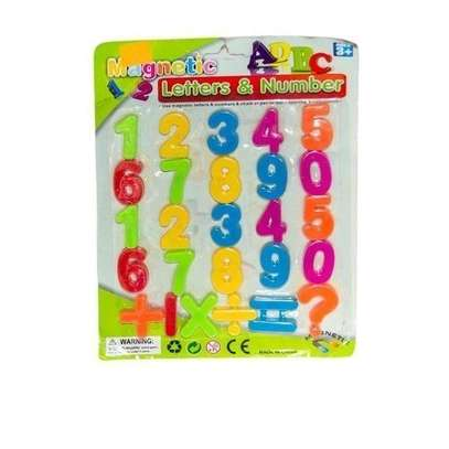 Magnetic Numbers - Multicolored image 1