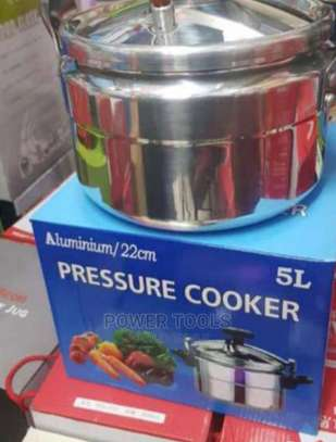 Very Effective 5 Litres 22cm Pressure Cooker image 1
