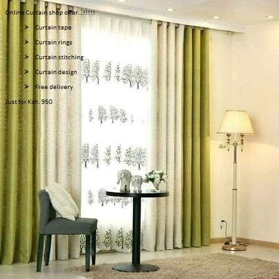 Fashionable curtains image 8