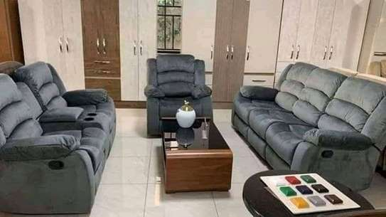 Locally assembled Recliner sofas image 2