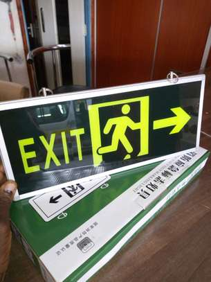 Illuminous Fire Exit signs image 2