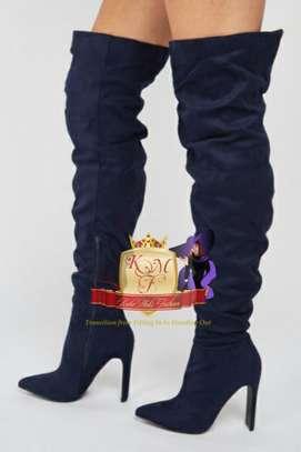 Stevie Slouchy Set Back Heeled Boots image 2