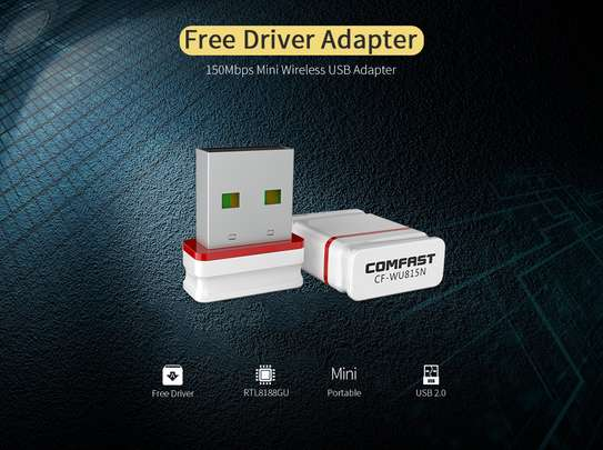 COMFAST Wifi Adapter Mini Wireless Network Card