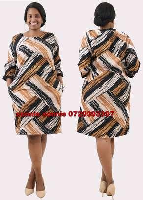 YELLOW PATTERN TURKEY SHIFT DRESS image 1