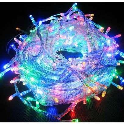 Generic LED Fairy Lights / Multi Coloured. 10 meters image 1