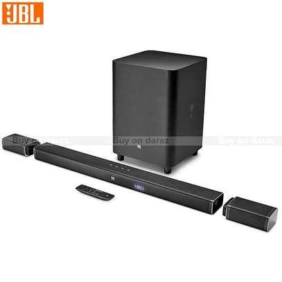 JBL Bar 5.1 510W 4K Detachable Soundbar With True Wireless Surround Speakers image 1