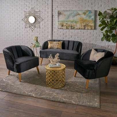 Three seater sofa/one seater sofas/Modern five seater sofa image 1