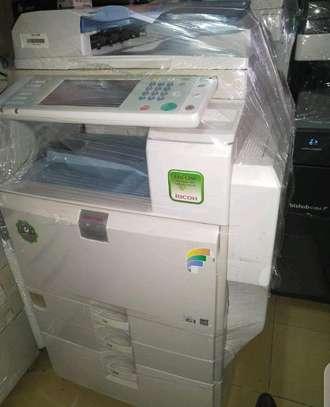 Ricoh Mpc 5501 photocopier machine image 1
