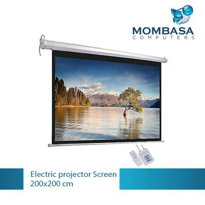 Electric Projector Screen 200x200 image 1