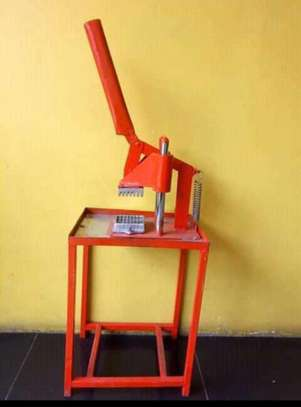 heavy duty commercial  chips cutter image 1