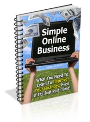 Simple Online Business- Soft Copy Guide
