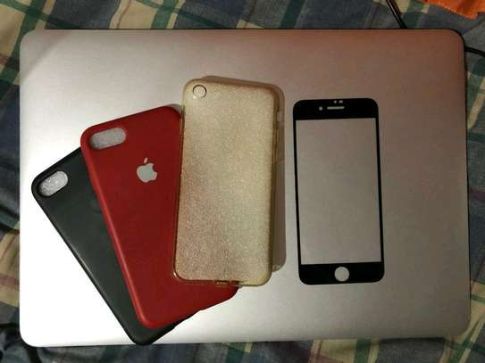 Apple Iphone 7 | 256 Gigabytes Product Red & Iwatch Series 3 image 3