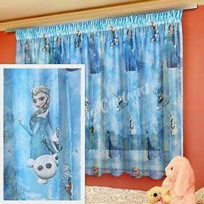 Kids cartoon themed curtains image 5