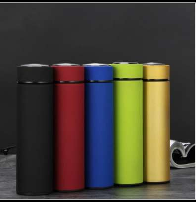 Stainless Steel Vacuum Flask Water Bottle-Varrying Colours image 1