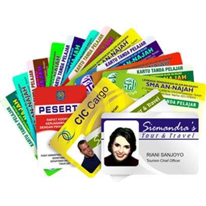 PRINTED CARDS image 1