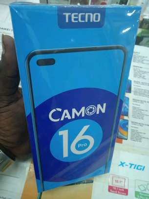 Tecno Camon 16 pro(shop)128gb 6gb ram 5000mAh battery 64mp camera image 2