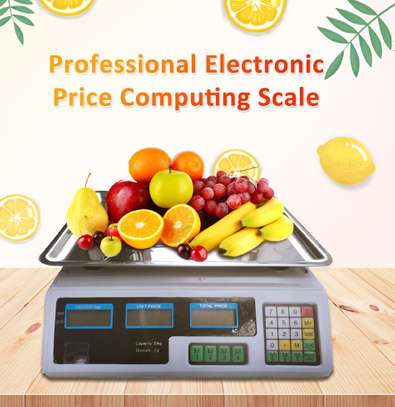 30kg Digital Fruit Scales Electronic Veg Commercial Shop Retail Price & Weighing image 1