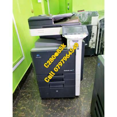 Heavy duty Konica minolta bizhub c280 colored photocopier machine image 1