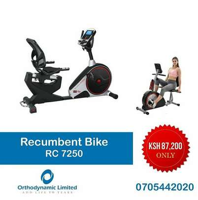 Recumbent bike RC7250 image 1