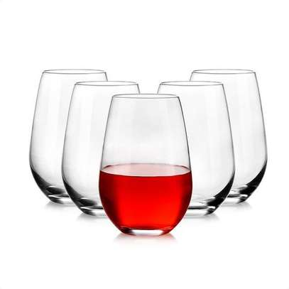 Classic Kitchenware Crystal Clear Balloon Whiskey/wine Glasses image 1