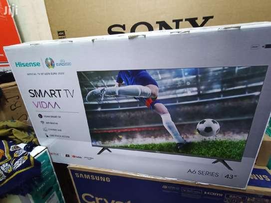 """Hisense 43"""" 43A6000 Smart HD Frameless LED TV image 1"""