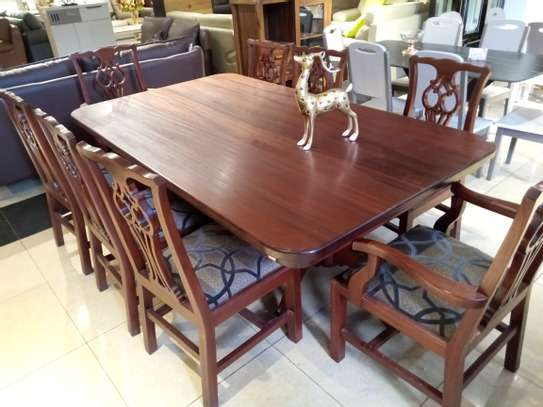8Seater Wooden Dining table image 4