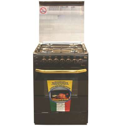 Ramtons 4 GAS 55X55 BROWN COOKER 5693- EB/302