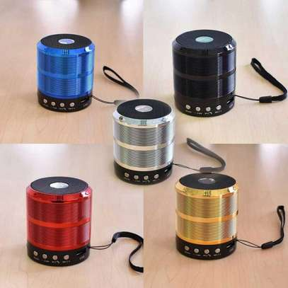 Wster Mini Speaker with Bluetooth (WS-887) image 1