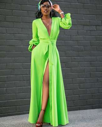 Buttoned Maxi Dress image 1