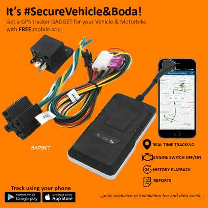 Car Track GPS Gadgets With Mobile App