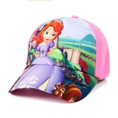 Girls' caps- Frozen and Sofia the first