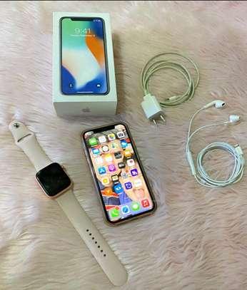 Apple Iphone X  ~ 256gb Gigabytes  Silver image 2