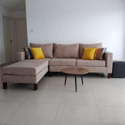 Six seater L Shaped sofa image 1