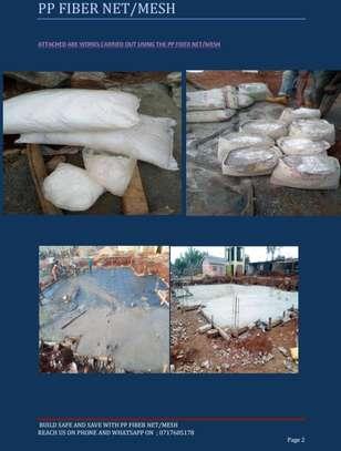 Fiber mesh for concrete casting image 1
