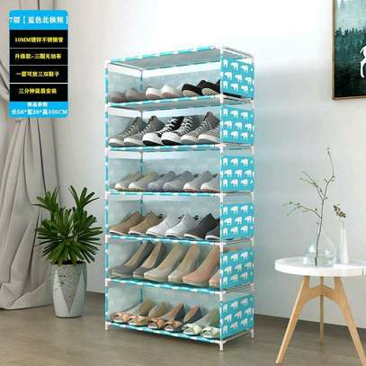 portable shoe rack image 2