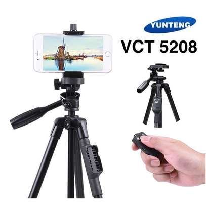 Tripod YUNTENG VCT-5208 Bluetooth Remote Controller For Mobile Phone image 1