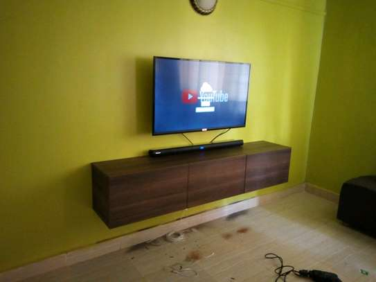 Functional floating TV stand image 3