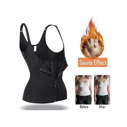 Corset Zipper Vest Body Shaper image 3