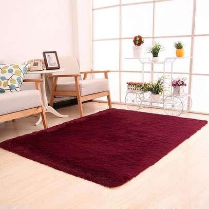 Sleek Fluffy Carpet image 3