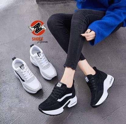 Ladies Comfy Sneakers image 3