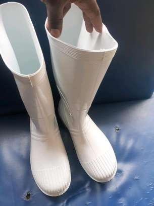 White Gumboots image 1