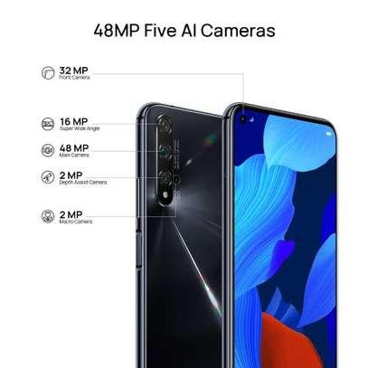 "Huawei Nova 5T, 8+128GB, 6.26"", 48 MP Five AI Cameras, Black, with Band4 image 1"